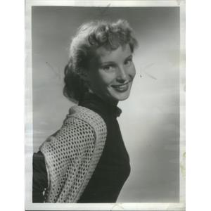 1953 Press Photo Lenka Peterson Bonino Actress - RSC98101