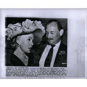 1956 Press Photo American Film Actress Zsa Zsa Gabor - RRX56111