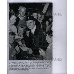 1956 Press Photo John B. Kelly Australia Olympic Games - RRX57741
