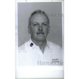 1991 Press Photo Ray Barr,Fraser football coach - RRX40569