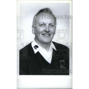 1993 Press Photo Ray Barr Fraser School Football Coach - RRX39639