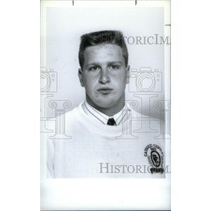 1993 Press Photo Joe Suhajda Catholic Central High - RRX40653