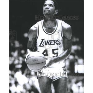 Press Photo Ac Green Free Lakers Basketball Team - RSC25803