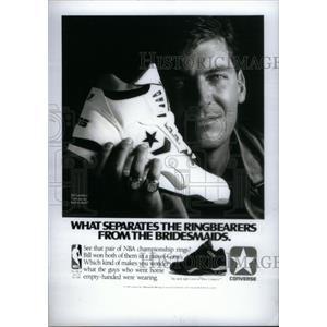 1990 Press Photo Bill Laimber Detroit Piston - RRX38815