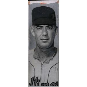 1957 Press Photo Baltimore Orioles' Raymond Leroy Moore - RRW73025