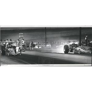 1977 Press Photo Thunder Road Dragway Denver, Colorado - RRX99547