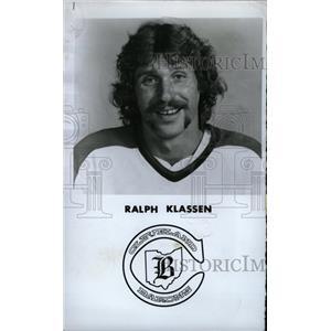 1978 Press Photo Ralph Klassen Cleveland Barons Hockey - RRW73923