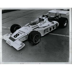 1973 Press Photo Bobby Unser Olsonite Eagle Number 8 - RRW62697