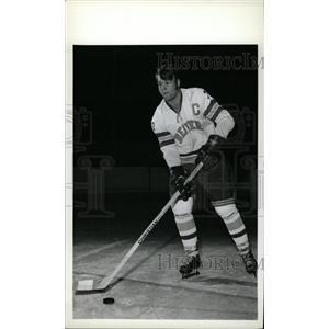 1973 Press Photo Mitch Brandt Denver College Ice Hockey - RRW73901