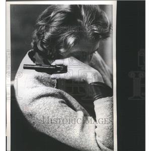 1962 Press Photo ngrid Bergman Broods Hedda Gabler