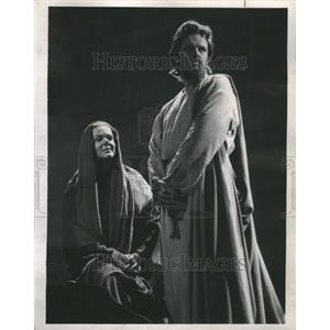 1964 Press Photo St. Matthew Passion Play John Boyden