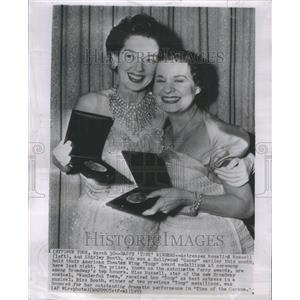 1953 Press Photo Rosalind Russell (Actress) - RRU11469
