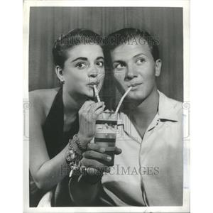1957 Press Photo Pat Boone American Singer Actor writer - RRU02561