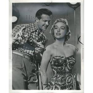 1955 Press Photo Robert Cummings Actor