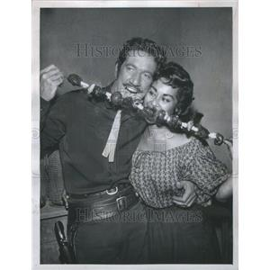1959 Press Photo RICHARD BOONE AMERICAN ACTOR - RRU02935