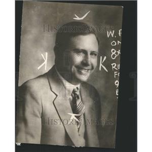 1928 Press Photo Johnny Ryan Gambler Man America - RRU11389