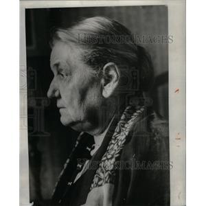 1928 Press Photo Jane Addams/Sociologist/Nobel Prize - RRX59949