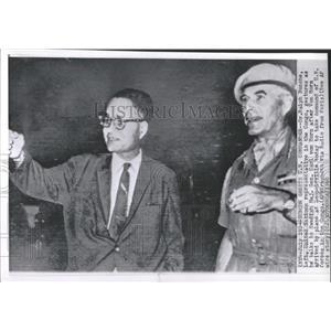 1960 Press Photo Dr. Ralph Bunche UN Representative - RRX97709