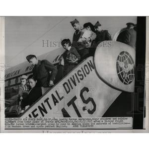 1957 Press Photo Korean War Brides - RRW55613
