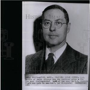 1950 Press Photo Larkin of Smith College Pulitzer Prize - RRX34965