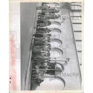 1957 Press Photo Municipal Pier Casino Buyers - RRX91581