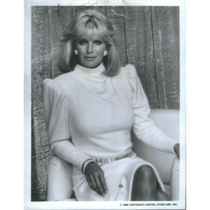 1986 Press Photo Linda Evans is a Popular American Actress. - RSC81907