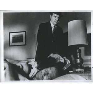 1967 Press Photo Actor Karl Malden Hotel Movie - RSC68225
