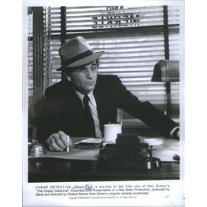 1978 Press Photo Peter Falk American Movie Television Actor - RSC88961