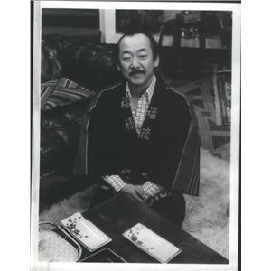 1977 Press Photo Pat Morita Comedy Actor Stars AS Takahashi In Mr T And Tina