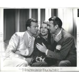 1940 Press Photo John Loder Isa Miranda George Brent Paramount Pictures Role