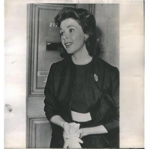 1962 Press Photo Mala Powers/Actress/Monte Vanton/Divorce - RSC71797