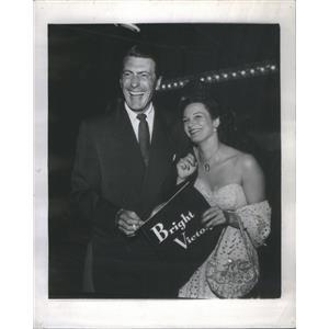 1951 Press Photo PATRICIA MEDINA ENGLISH ACTRESS DIRECTOR FRED DE CORDOVA