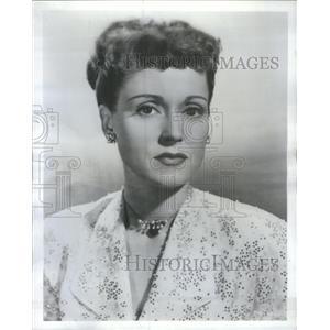 1950 Press Photo Martha Scott Actress Another Language - RSC49555
