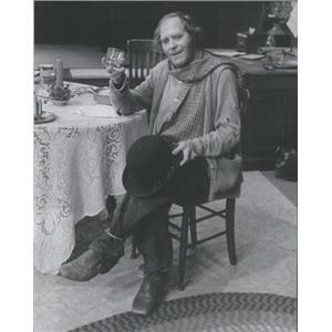 1977 Press Photo Victor Power Johnnie Will Irish Comedy Drama - RSC63391