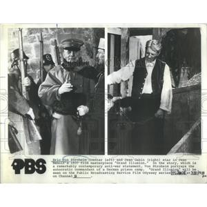 1972 Press Photo Eric Von Stroheim Grand Illusion Actor - RSC43145