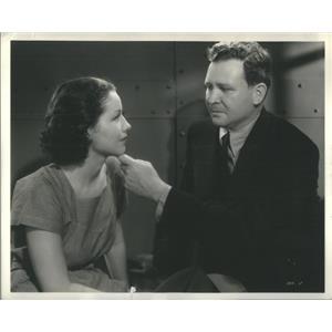 1936 Press Photo Bengal Killer Film Actors Travis MacLane Scene - RSC99325