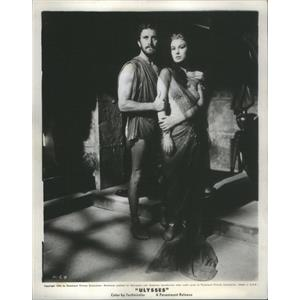 "1955 Press Photo Kirk Douglas & Silvana Mangano in ""Ulysses"" - RSC91529"