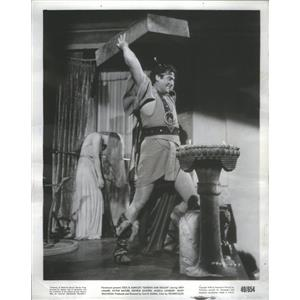 1950 Press Photo Victor Mature Actor - RSC78087