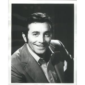 1974 Press Photo Italian-American actor / singer Al Martino - RSC80141
