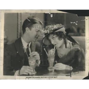 1928 Press Photo Madge Bellamy Actress Barry Norton Actor Mother Knows Best