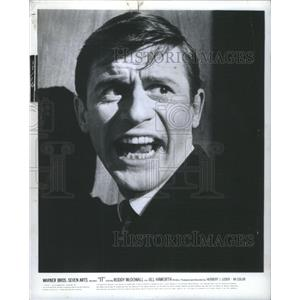 1967 Press Photo Roderick Andrew Anthony Jude Roddy McDowall Jill Haworth In IT