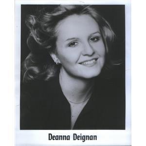 1978 Press Photo Chicago actress Deanna Deignan Vanities - RSC68959