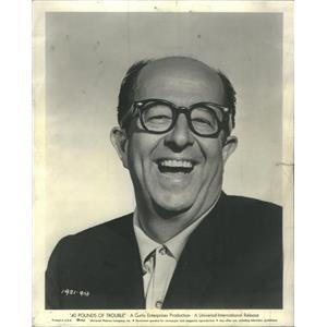 1967 Press Photo Phil Silvers Television Film Actor Comedian - RSC85771
