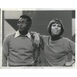 1977 Press Photo Ben Vereen Carol Burnett Actors Singers Show - RSC48469