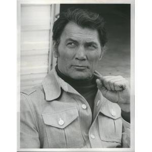 "1975 Press Photo Jack Palance ""Bronk"" - RSC93341"