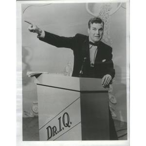 1954 Press Photo Jay Owen on Dr. I.Q Popular Quiz Show - RSC90169