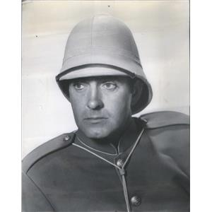 1953 Press Photo Tyrone Power Pony Soldier Actor - RSC88705