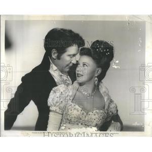 1946 Press Photo GINGER AMERICAN ACTRESS DANCER SINGER BURGESS MEREDITH
