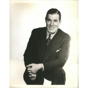 1935 Press Photo Nat Pindelton Actor Murder in the Fleet - RSC98541