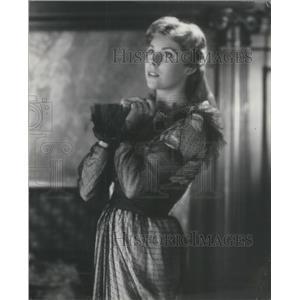 1953 Press Photo Betsy Von Furstenberg German Actress Radio Broadway Josephine